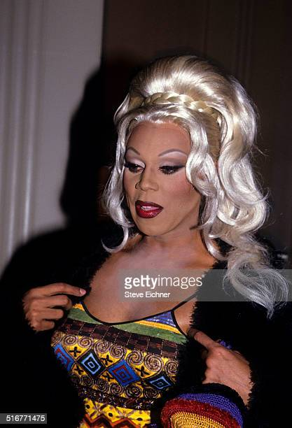 RuPaul at Waldorf Astoria Rock and Roll Hall of Fame New York January 19 1994