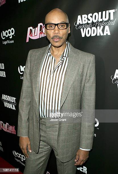 RuPaul attends 'RuPaul's Drag Race' Season 3 Premiere Party sponsored by ABSOLUT at RAGE Nightclub on January 18 2011 in West Hollywood California