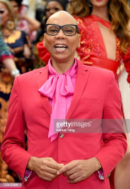 RuPaul attends RuPaul's DragCon UK 2020 at Olympia London on January 18, 2020 in London, England.