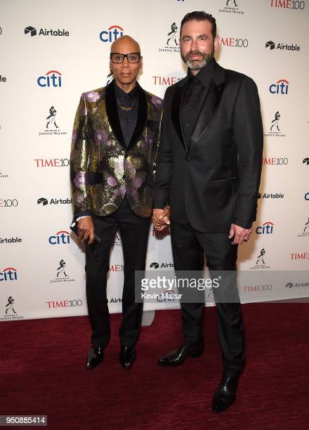 RuPaul attends the 2018 Time 100 Gala at Jazz at Lincoln Center on April 24 2018 in New York CityÊ