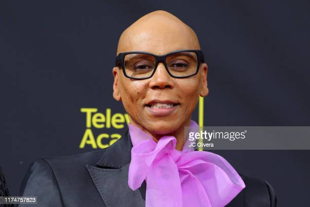 RuPaul attends the 2019 Creative Arts Emmy Awards on September 14 2019 in Los Angeles California