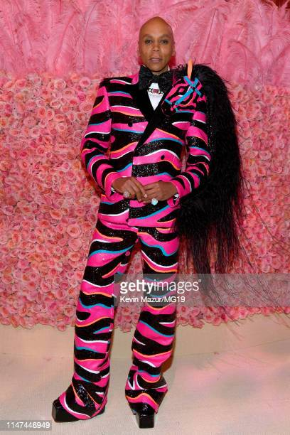 RuPaul attends The 2019 Met Gala Celebrating Camp Notes on Fashion at Metropolitan Museum of Art on May 06 2019 in New York City