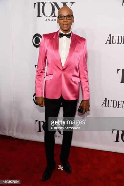 RuPaul attends the 68th Annual Tony Awards at Radio City Music Hall on June 8 2014 in New York City
