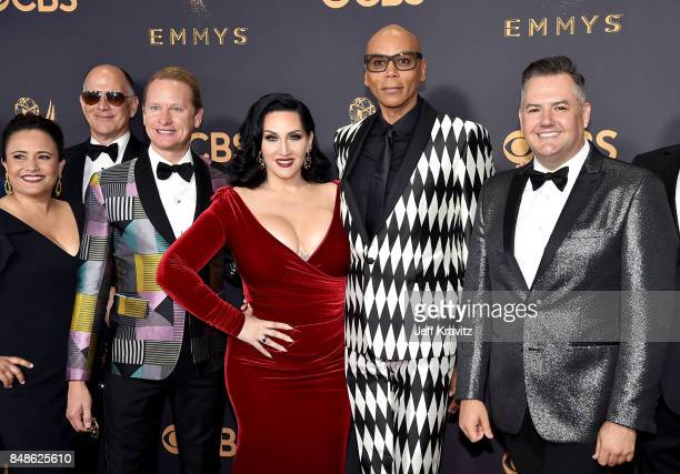 RuPaul attends the 69th Annual Primetime Emmy Awards at Microsoft Theater on September 17 2017 in Los Angeles California