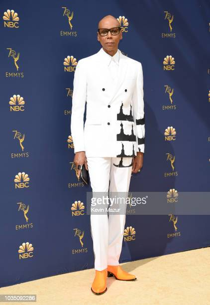 RuPaul attends the 70th Emmy Awards at Microsoft Theater on September 17 2018 in Los Angeles California