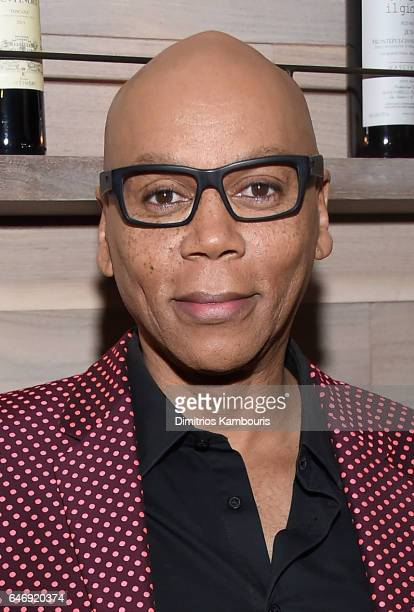 RuPaul attends The Season 2 Premiere Of 'Shades Of Blue' after party hosted by NBC And The Cinema Society at Tutto Il Giorno on March 1 2017 in New...