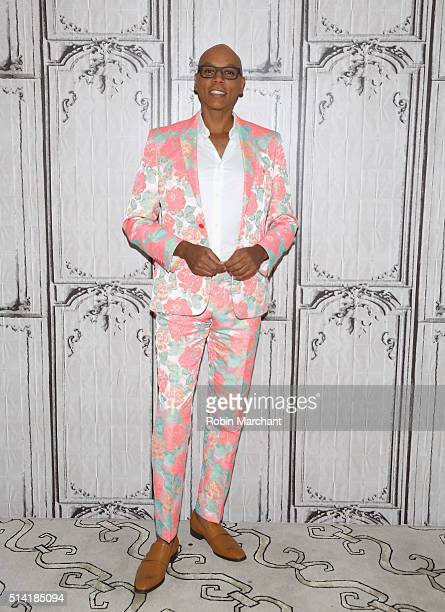 RuPaul Charles attends AOL Build Speakers Series RuPaul 'RuPaul's Drag Race' at AOL Studios In New York on March 7 2016 in New York City