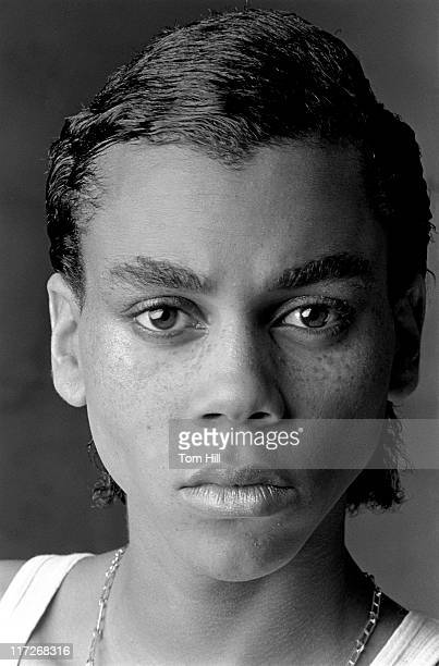 RuPaul Charles during RuPaul Photographed in Photo Studio October 27 1979 at Photographer's studio in Atlanta Georgia United States