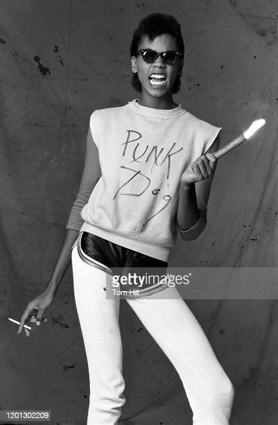 RuPaul Charles is photographed at a photo studio on October 27, 1979 in Atlanta, Georgia.