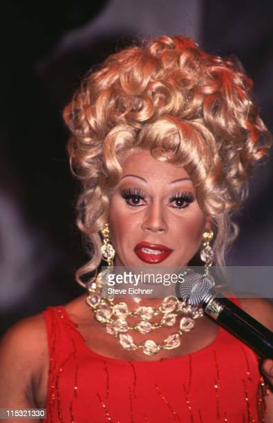 RuPaul during Ru Paul at Club USA 1993 at Club USA in New York City New York United States