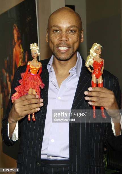 RuPaul during RuPaul Launches His Doll Created By Jason Wu at Arcadia Gallery in New York City New York United States