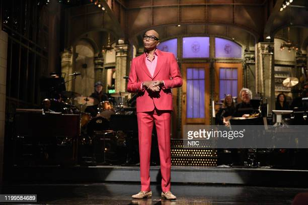 """RuPaul"""" Episode 1780 -- Pictured: Host RuPaul during the monologue on Saturday, February 8, 2020 --"""