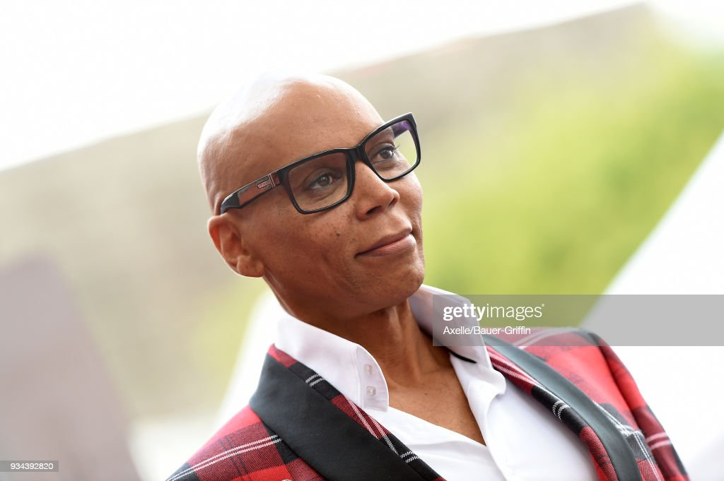 RuPaul Honored With Star On The Hollywood Walk Of Fame