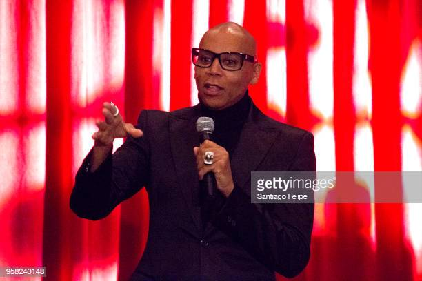 RuPaul onstage during the 4th Annual RuPaul's DragCon at Los Angeles Convention Center on May 13 2018 in Los Angeles California