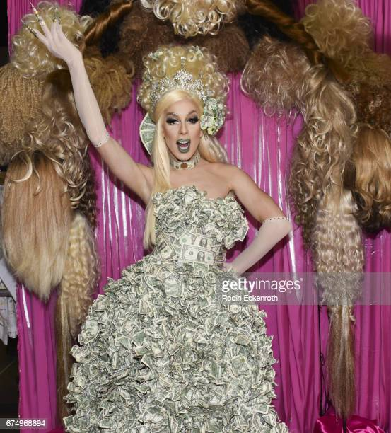 RuPaul Season 5 and All Stars alumni Alaska 5000 poses for portrait at 3rd annual RuPaul's DragCon at Los Angeles Convention Center on April 29 2017...