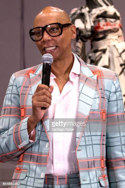 RuPaul speaking during th openning of RuPaul's DragCon NYC 2017 at The Jacob K. Javits Convention Center on September 9, 2017 in New York City.