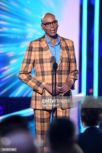 RuPaul speaks at the 2016 Logo's Trailblazer Honors at Cathedral of St John the Divine on June 23 2016 in New York City Trailblazer Honors airs...