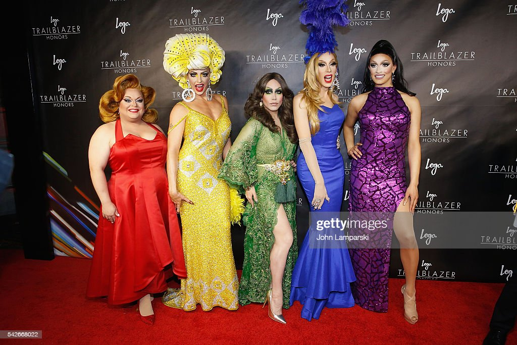 RuPaul's Drag Race All-Stars, Ginger Mini, Alyssa Edwards, Phi Phi O' Hara, Alaska Thunderfuck, and Tatiana attend 2016 Trailblazer Honors at Cathedral of St. John the Divine on June 23, 2016 in New York City.
