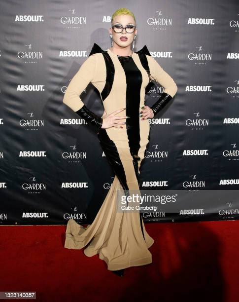 """RuPaul's Drag Race"""" season 13 contestant Joey Jay attends the one year anniversary party at The Garden Las Vegas on June 11, 2021 in Las Vegas,..."""