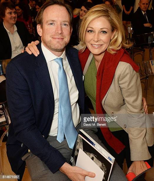 Rupert Adams and Nadja Swarovski attend a charity auction of 'David Beckham The Man' hosted by Phillips at their European Headquarters on March 10...
