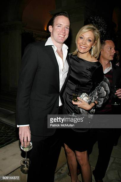Rupert Adams and Nadja Swarovski attend GIORGIO ARMANI Prive in Los Angeles at Private Residence on February 24, 2007 in Beverly Hills, CA.