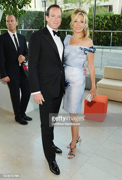Rupert Adams and Nadja Swarovski attend the 2010 CFDA Fashion Awards at Alice Tully Hall Lincoln Center on June 7 2010 in New York City