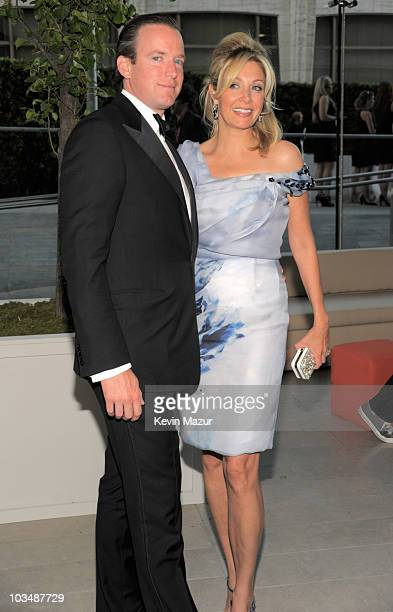 Rupert Adams and Nadja Swarovski attends the 2010 CFDA Fashion Awards at Alice Tully Hall Lincoln Center on June 7 2010 in New York City