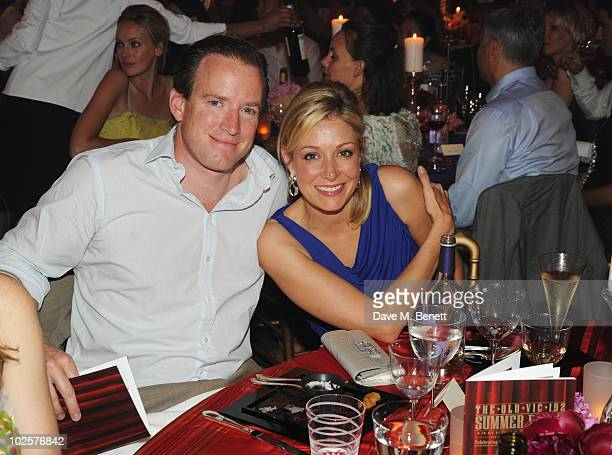 Rupert Adams and Nadja Swarovski celebrated in style at The Old Vic 192 Summer Party supported by W Doha at Battersea Power station on July 1, 2010...