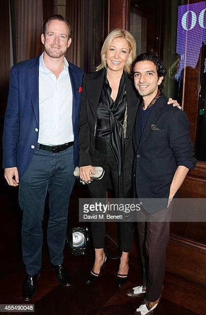 Rupert Adams Nadja Swarovski and Business of Fashion founder and editorinchief Imran Amed attend The Business of Fashion celebrating the #BOF500 the...