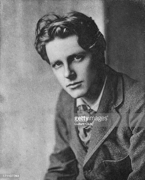 Rupert Chawner Brooke English war poet 3 August 1887 – 23 April 1915 Tragic death