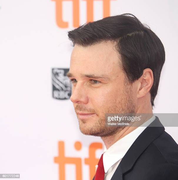 Rupert Evans attends the 'American Pastoral' during the 2016 Toronto International Film Festival premiere at Princess of Wales Theatre on September 9...