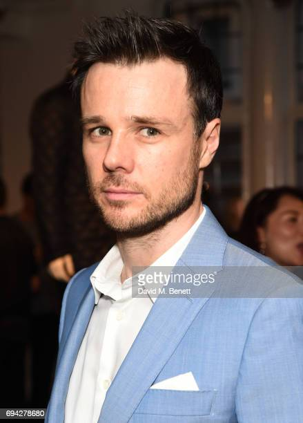 Rupert Evans attends the dunhill London presentation during the London Fashion Week Men's June 2017 collections on June 9 2017 in London England