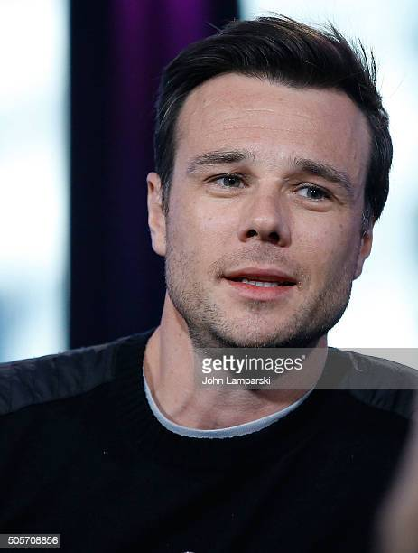 Rupert Evans of 'The Boy' attends AOL Build speaker series at AOL Studios In New York on January 19 2016 in New York City