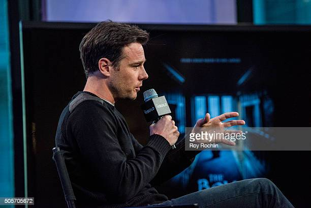 Rupert Evans speaks about 'The Boy' during a AOL Build Speaker Series at AOL Studios In New York on January 19 2016 in New York City