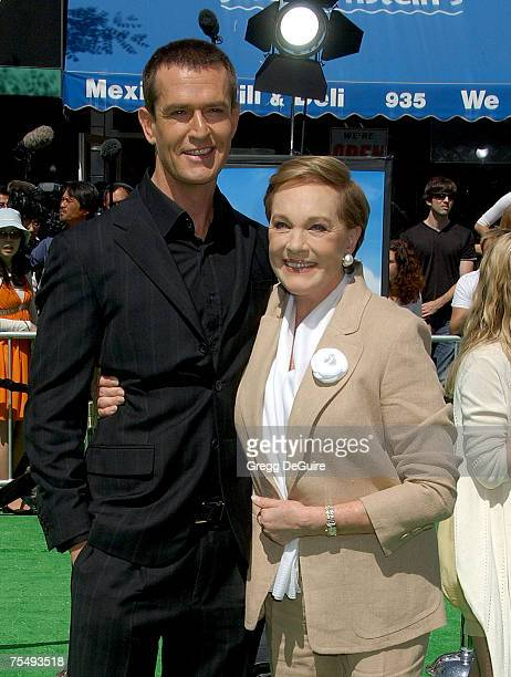 Rupert Everett and Julie Andrews at the Mann Village Theatre in Westwood California