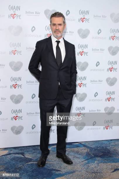 Rupert Everett attends the Chain Of Hope Gala Ball held at Grosvenor House on November 17 2017 in London England