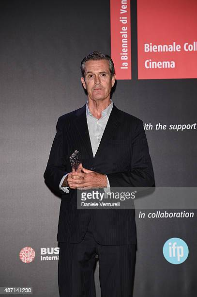 Rupert Everett attends the 'Kineo Award' Ceremony during the 72nd Venice Film Festival at on September 6 2015 in Venice Italy