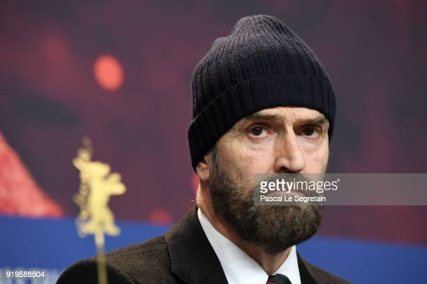 Rupert Everett attends the 'The Happy Prince' press conference during the 68th Berlinale International Film Festival Berlin at Grand Hyatt Hotel on...