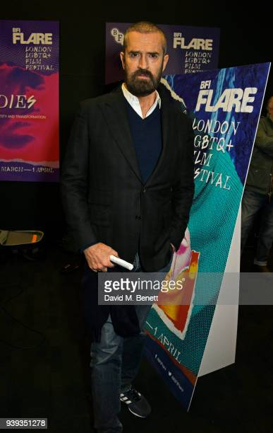 Rupert Everett attends the UK Premiere of The Happy Prince as part of BFI Flare LGBTQ Film Festival 2018 at the BFI Southbank on March 28 2018 in...