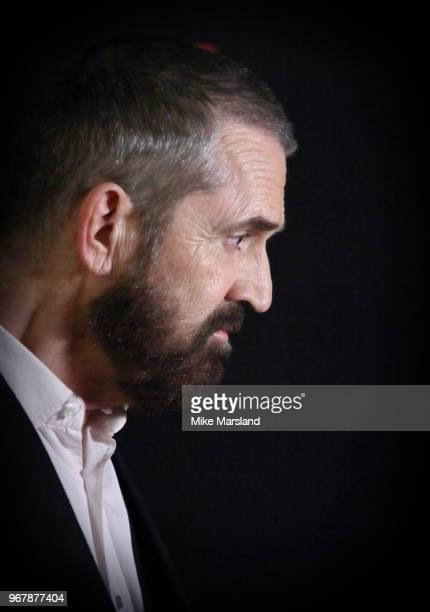 Rupert Everett attends the UK premiere of 'The Happy Prince' at Vue West End on June 5 2018 in London England
