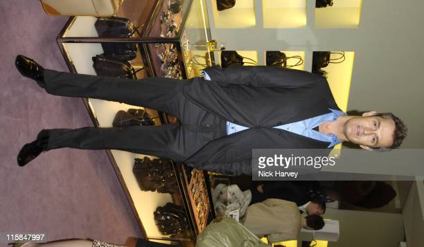 Rupert Everett during Prada and GQ Style Host Spring/Summer Preview Party March 30 2006 at Prada Store in London Great Britain