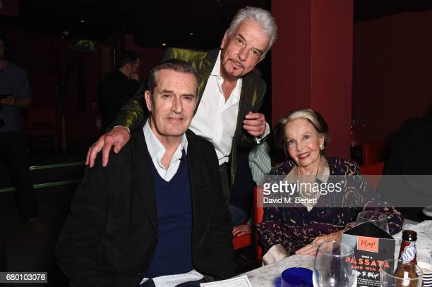 Rupert Everett Nicky Haslam and Leslie Caron attend as Nicky Haslam performs his new cabaret show 'Wherever There's Love' at The Pheasantry on May 7...