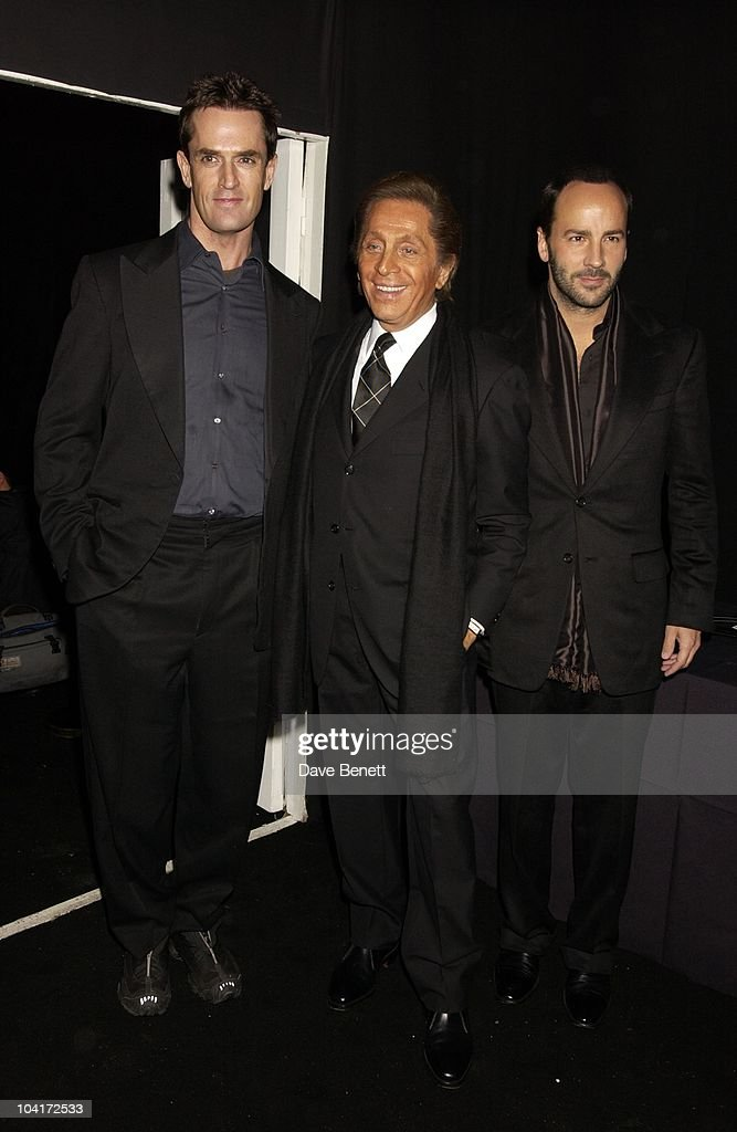 Rupert Everett, Valentino & Tom Ford, Valentino Party, At The Serpentine Gallery, London