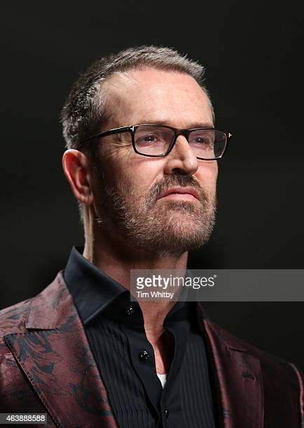 Rupert Everett walks the runway at the Fashion For Relief charity fashion show to kick off London Fashion Week Fall/Winter 2015/16 at Somerset House...