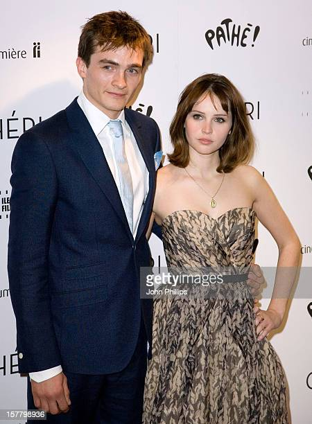 Rupert Friend And Felicity Jones Arrive For The Uk Premiere Of Cheri At The Cine Lumiere In London