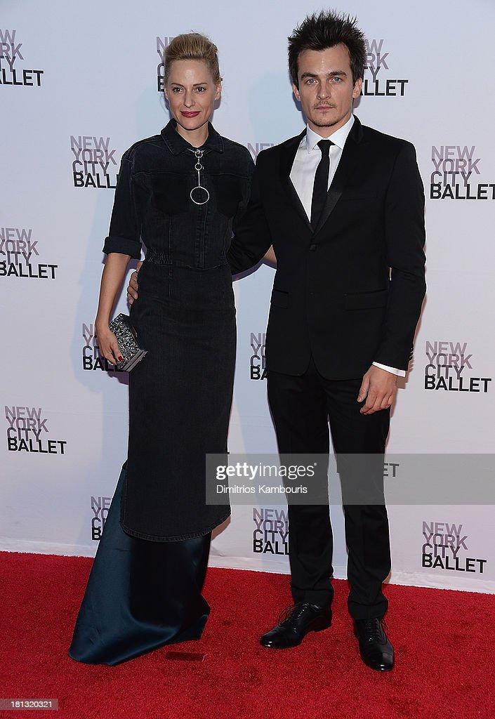 Rupert Friend attends New York City Ballet 2013 Fall Gala at David H. Koch Theater, Lincoln Center on September 19, 2013 in New York City.
