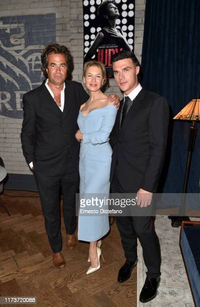 Rupert Goold Renee Zellweger and Finn Wittrock attend the RBC Hosted Judy Cocktail Party At RBC House Toronto Film Festival 2019 at RBC House on...
