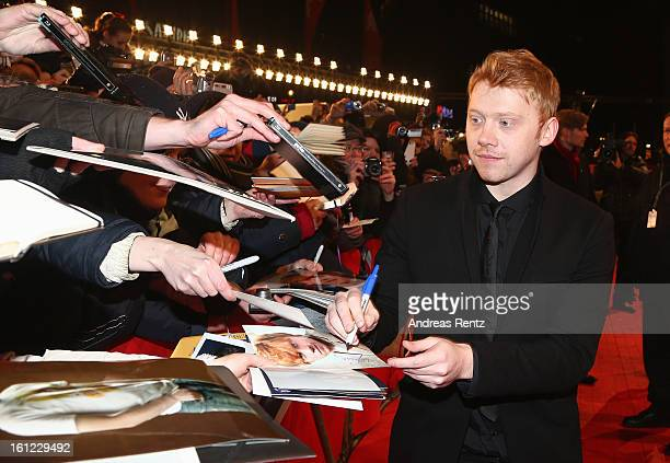 Rupert Grint arrives for the 'The Neccessary Death of Charlie Countryman' Premiere during the 63rd Berlinale International Film Festival at Berlinale...