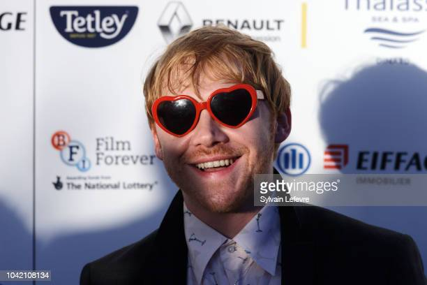 Rupert Grint attends red carpet of Dinard Film festival opening ceremony on September 27 2018 in Dinard France