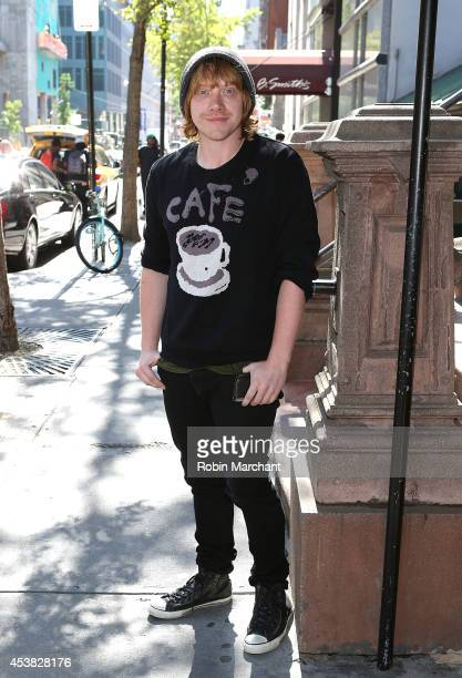 Rupert Grint attends the 'It's Only A Play' Cast Photocall at Joe Allen Restaurant on August 19 2014 in New York City